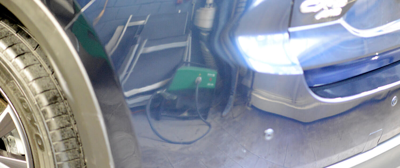 Smart-Repair fertiges Ergebnis nach dem polieren